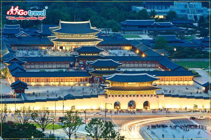 Du lịch hàn quốc tham quan cung điện Seoul