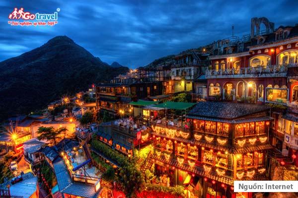Tham quan làng cổ ở Đài Loan