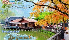 Kinh nghiệm du lịch Đài Loan mùa thu