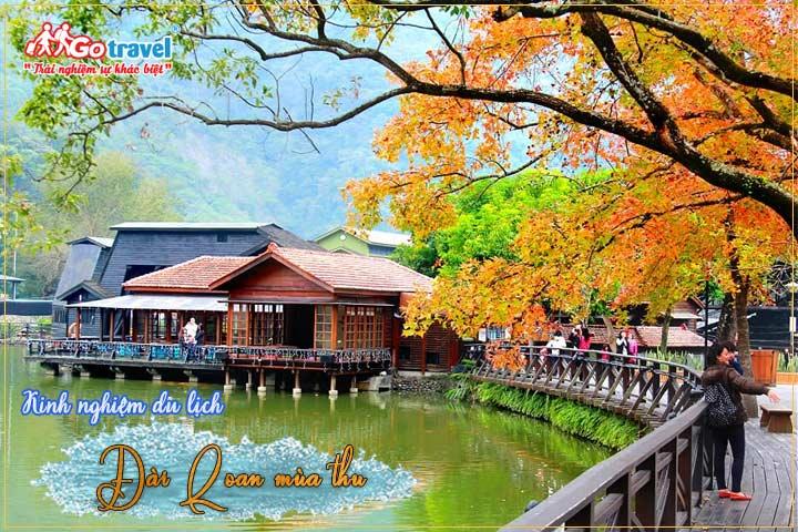 Du lịch Đài Loan mùa thu