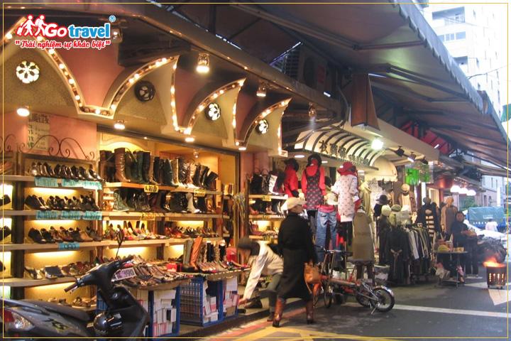 Mua sắm thời trang tại Đài Loan